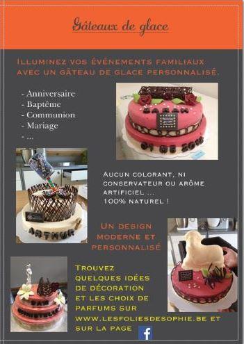 Les Folies De Sophie Glaces Et Gâteaux Artisanaux Faimes